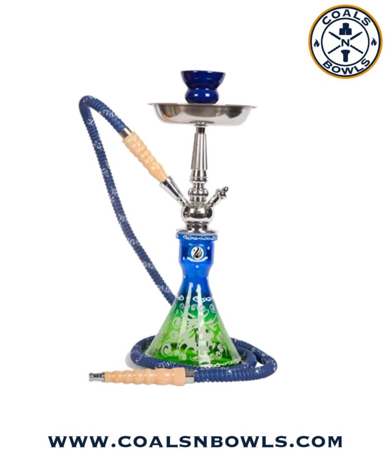 Starbuzz Unicus 2.0 Hookah Blue and Green