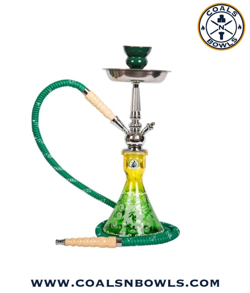 Starbuzz Unicus 2.0 Hookah Yellow and Green